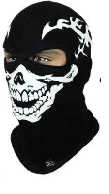 Балаклава с черепом Rough Radical Scull S2, маска, подшлемник