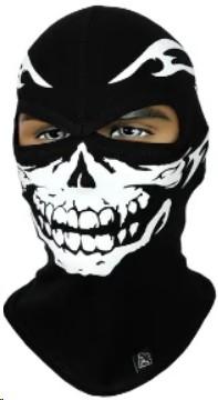 Балаклава с черепом Rough Radical Scull S3, маска, подшлемник