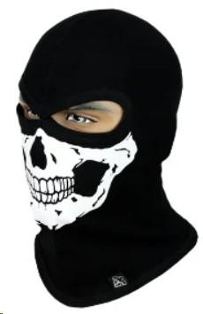 Балаклава с черепом Rough Radical Scull S4, маска, подшлемник