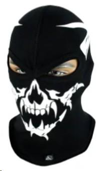 Балаклава с черепом Rough Radical Scull S6, маска, подшлемник