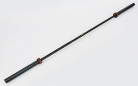 Гриф для штанги Олимпийский профессиональный для Кроссфита Zelart (TA-7237), 2,2м