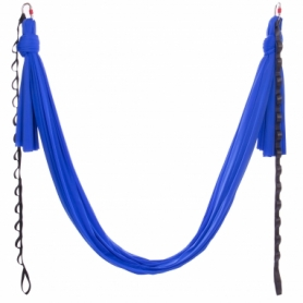 Гамак для йоги ZLT Antigravity Yoga DH6026 синий