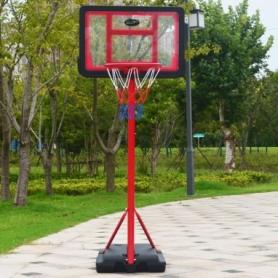 Стойка баскетбольная со щитом Ballshot Kid S881A, 30 см