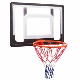 Щит баскетбольный с кольцом и сеткой Ballshot S010, 38 см