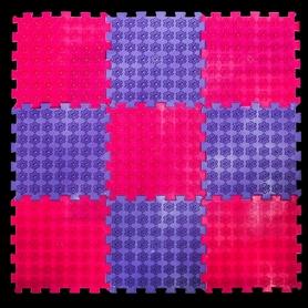 Коврик акупунктурный массажный Олви Лотос 9 элементов (OL1281054449)