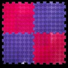 Коврик акупунктурный массажный Олви Лотос 4 элемента (OL1281055947)