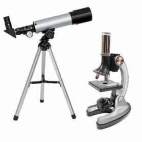 Микроскоп Optima Universer 300x-1200x + Телескоп 50/360 AZ (MBTR-Uni-01-103) SN928587