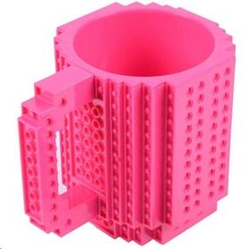 Кружка брендовая Lego CDRep Pink (FO-115739), 350 мл