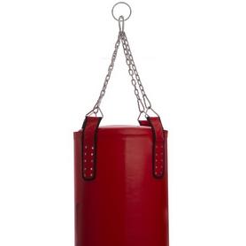 Мешок боксерский PU Zelart (BO-1979) с цепью, h-180см - Фото №5