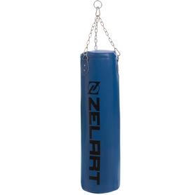 Мешок боксерский PU Zelart (BO-1991) с цепью, h-95см - Фото №7