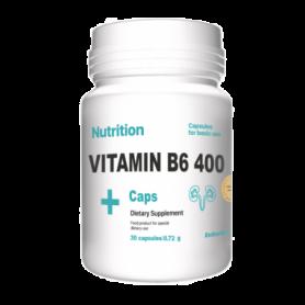 Витамины EntherMeal В6 400 ABPR92, 30 капсул