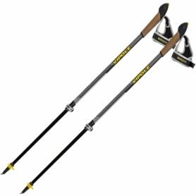 Палки для скандинавской ходьбы Vipole Instructor Vario QL Dark DLX (S2027) (SN928654)