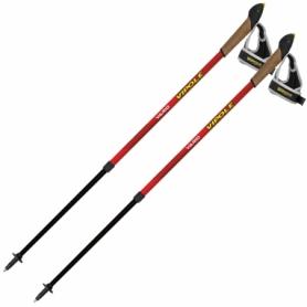 Палки для скандинавской ходьбы Vipole Vario Red DLX (S2030) (SN928655)