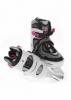 Коньки роликовые SportVida SV-LG0062, белые - Фото №3