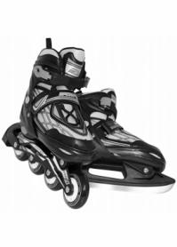 Коньки роликовые SportVida SV-LG0064, черные