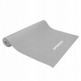 Коврик для йоги и фитнеса Springos YG0037, серый