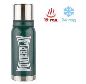 Термос питьевой PowerPlay (9001) - зеленый, 1000 мл