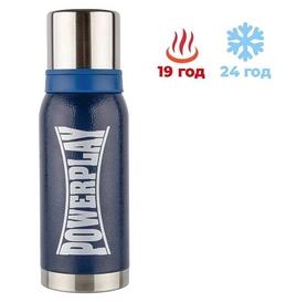 Термос питьевой PowerPlay (9001) - синий, 1000 мл