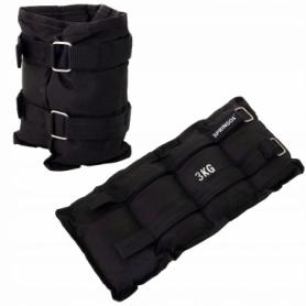 Утяжелители-манжеты для ног и рук Springos FA0008, 2 шт по 3 кг