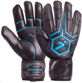 Перчатки вратарские Storelli FB-905 черно-синие