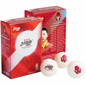 Мячи для настольного тенниса DHS ITTF World Tournament Ball 40+ мм WTD40 3*, 6 шт