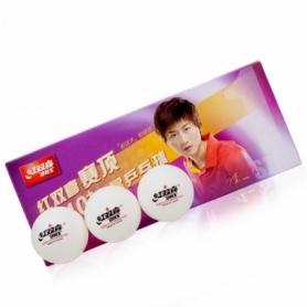 Мячи для настольного тенниса DHS Cell-Free Dual 40+ мм CD40C 1*, 10 шт