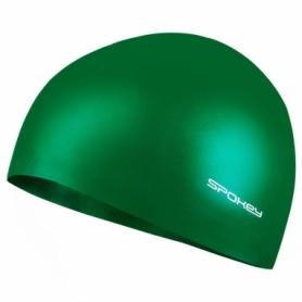Шапочка для плавания Spokey Summer CU 83961, зеленый