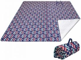 Коврик для пикника Ariel Picnic Blanket Rose Red KingCamp KP2003, 200х150 см