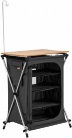 Кухня складная походная Ultra-Light Storage Cabinets DARK GREY KingCamp KC3943