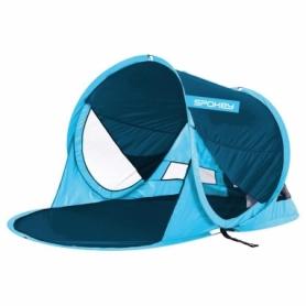 Палатка двухместная пляжная Spokey Stratus голубая (927950)