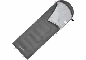 Мешок спальный (спальник) KingCamp Oasis 250X KS3222 - серый, L