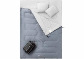 Мешок спальный (спальник) KingCamp Oxygen 250 KS3143 - серый, L