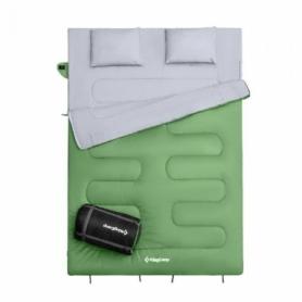 Мешок спальный (спальник) KingCamp Oxygen 250 KS3143 - зеленая, L