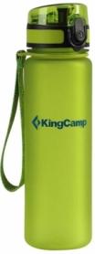 Бутылка для воды KingCamp Tritan Straw Bottle KA1113 - зеленая, 500 мл