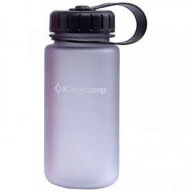 Бутылка для воды KingCamp Tritan Bottle KA1111 - серая, 400 мл