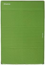 Коврик самонадувающийся Comfort Double Green KingCamp KM3084, 67х35 см