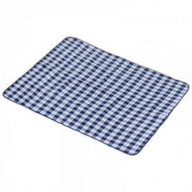 Коврик для пикника Picnic Blanket KingCamp Blue Checkers KG3710P, 175х135 см