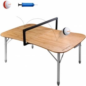 Стол складной Multipurpose bamboo game table KingCamp KC1920