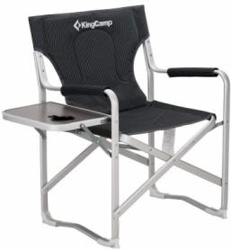 Кресло складное Deluxe Director chair Black Stripe KingCamp KC3821