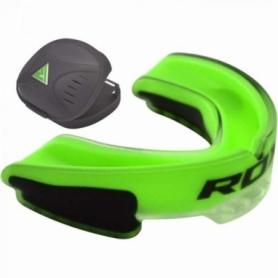 Капа боксерская RDX GEL 3D Elite, зеленая
