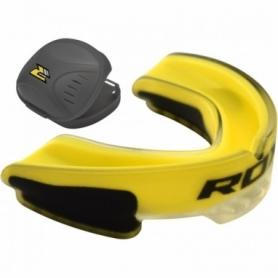 Капа боксерская RDX GEL 3D Elite, желтая