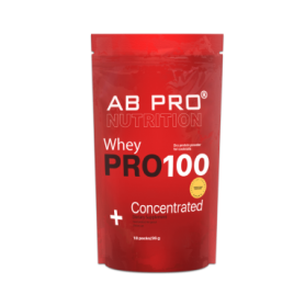 ab pro Протеин AB PRO PRO 100 Whey Concentrated Арахис-карамель, 18 порций по 36 г (ABPR30093)
