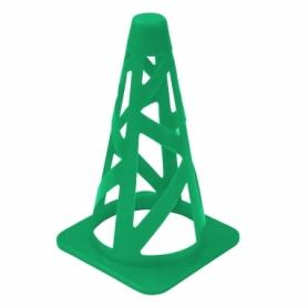 Фишка спортивная конус SportVida SV-HK0294 - зеленая, 23 см