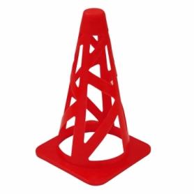 Фишка спортивная конус SportVida SV-HK0295 - красная, 23 см