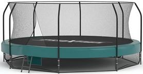 Батут с защитной сеткой Премиум Proxima CFR-14FT 427 см