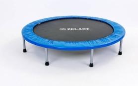 Батут для фитнес-джампинга Zelart, 121 см (C-2695)