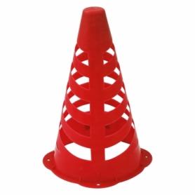 Фишка спортивная конус SportVida SV-HK0307 - красная, 23 см