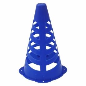 Фишка спортивная конус SportVida SV-HK0306 - синяя, 23 см