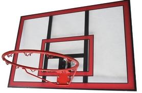 Щит баскетбольный Vigor 112x75 BB001