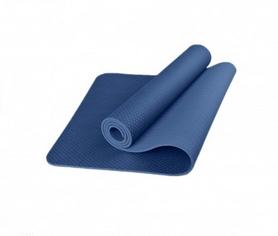 Коврик для фитнеса и йоги с чехлом Newt TPE Eco NE-5-80-18-B - синий, 183х61х0,6 см